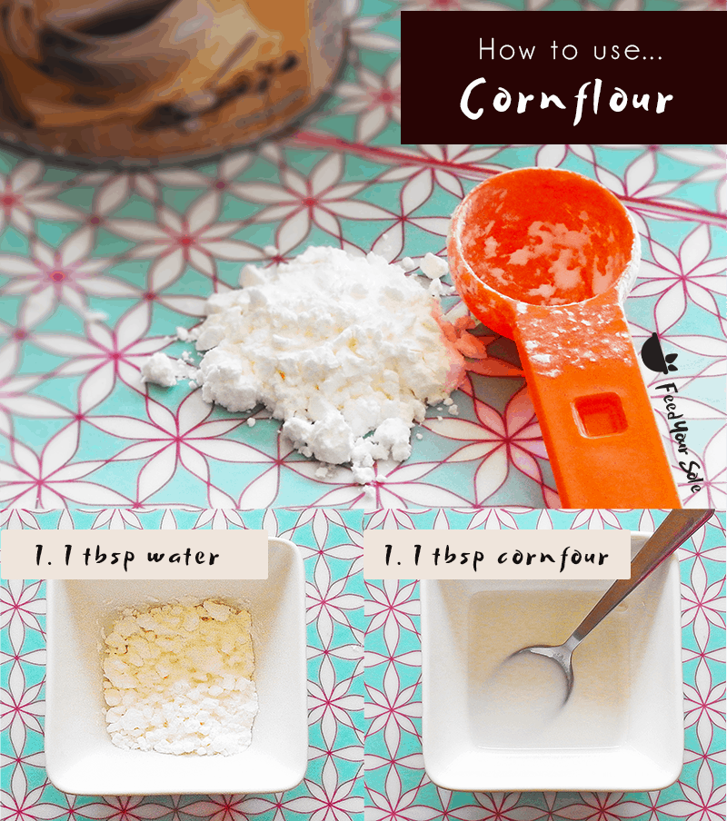 Cornflour Step By Step How To Use