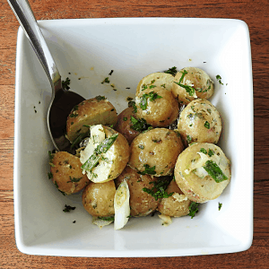 Lemon baby potato salad