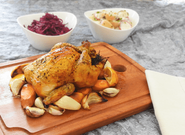 Roast Chicken for One
