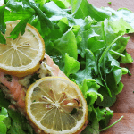 Salmon Rocket Salad