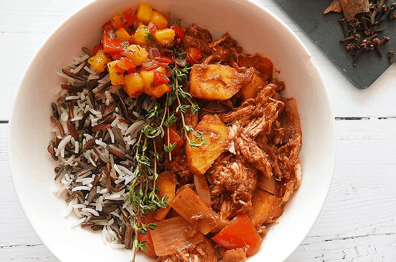 Caribbean Chicken & Pineapple Stew