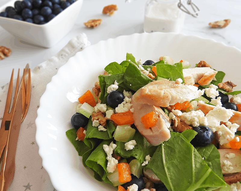 Chicken Salad Feta Blueberry