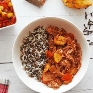 Pineapple Chicken Caribbean Stew