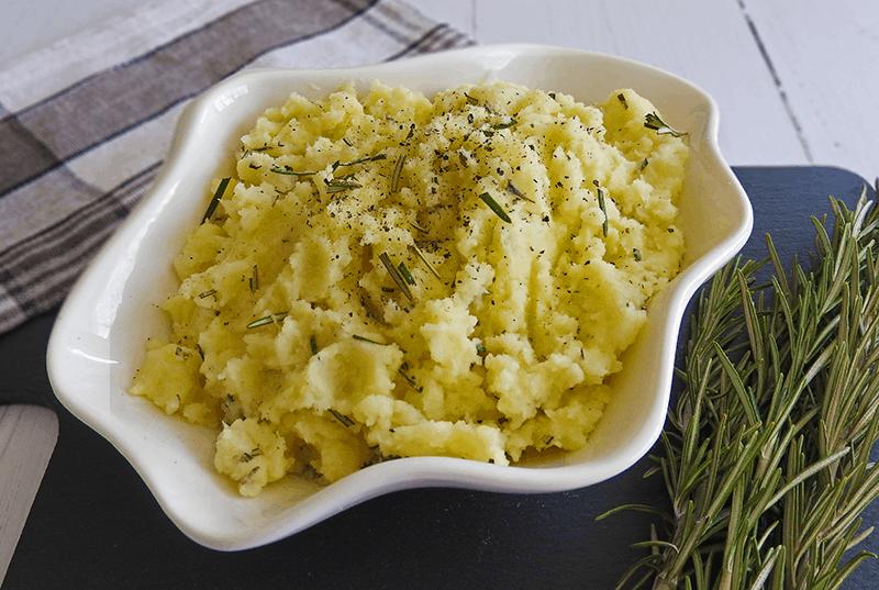 rosemary parsnip mashed potato