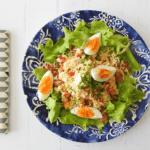 Tuna Bacon Coleslaw Salad