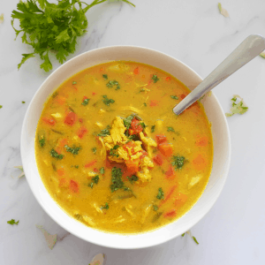 Slow Cooker Coconut Chicken Soup