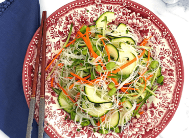 Rice Noodle Asian Salad Recipe