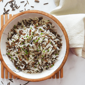 Coconut Basmati Wild Rice
