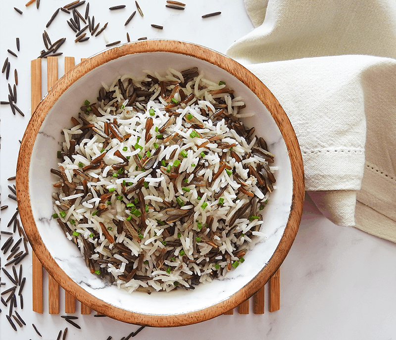 Coconut Basmati Wild Rice