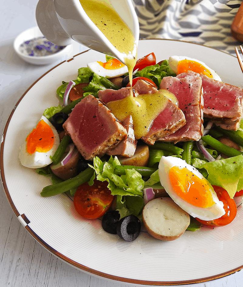 Seared Tuna Salad Nicoise
