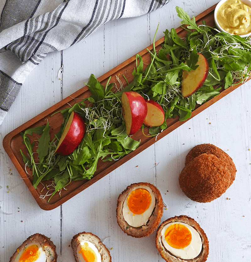 Apple Scotch Eggs Recipe