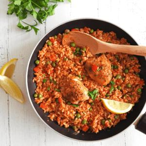 Chicken Chorizo Paella Recipe