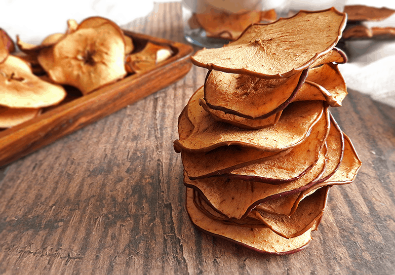 Cinnamon Apple Crisps Recipe
