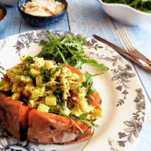 Coronation Chicken Potato Recipe