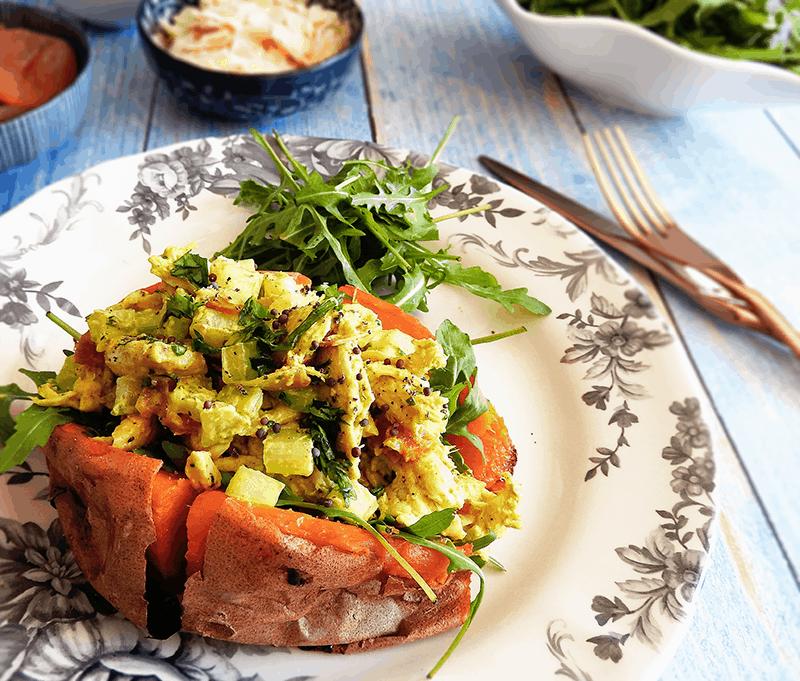 Coronation Chicken Potato Recipe
