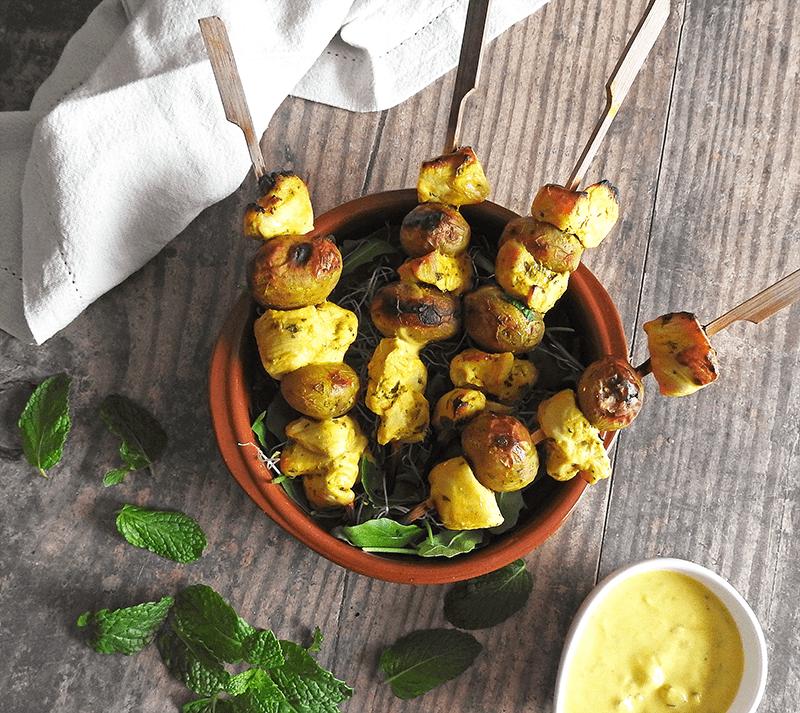Kebabs Chicken Curry Recipe