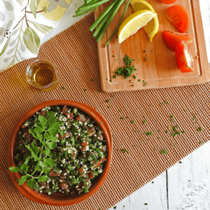 Middle Eastern Tabbouleh Recipe