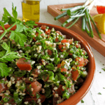 Middle Eastern Tabbouleh Salad Recipe