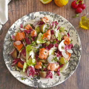 Honey Salmon Endive Salad Recipe