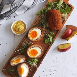 Scotch Eggs with Apple