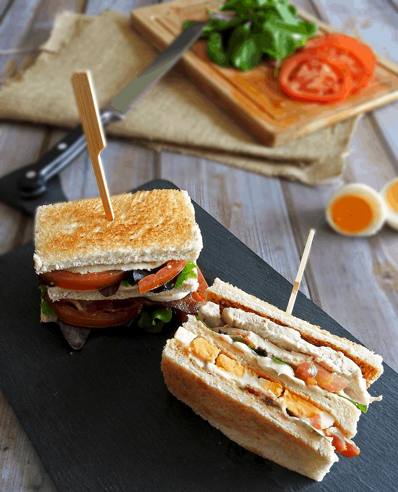 Chicken Club Sandwich Recipe Best
