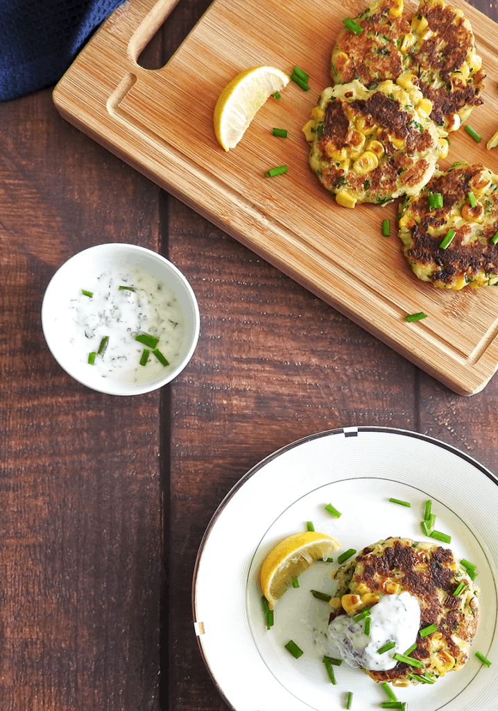 Halloumi Fritters Courgette