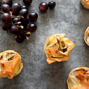 Stilton Grape Tarts