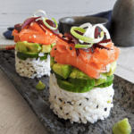 Sushi Stack Smoked Salmon