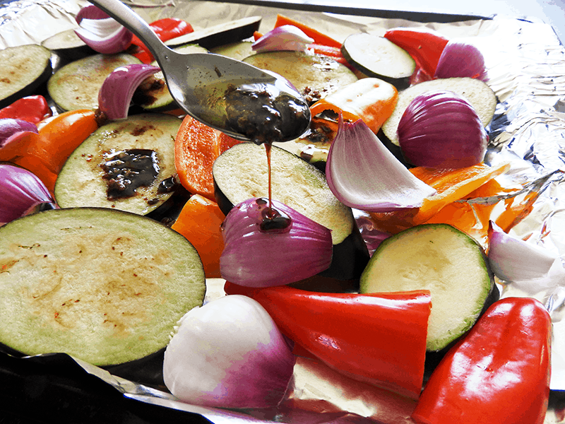 Balsamic Roasted Mediterranean Prep