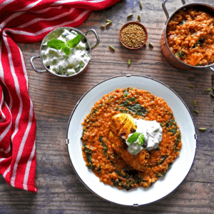 Chicken Red Lentil Curry