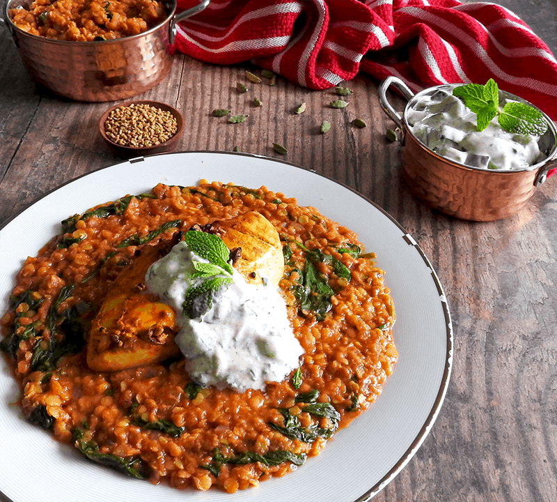 Curry Red Lentil Chicken