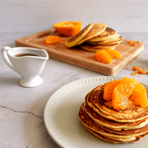 Mandarin Scotch Pancakes