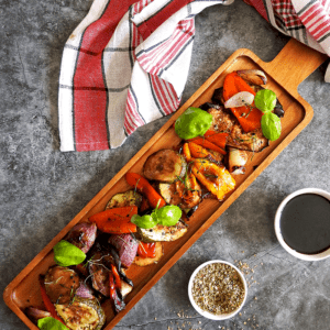 Roasted Mediterranean Veg Balsamic