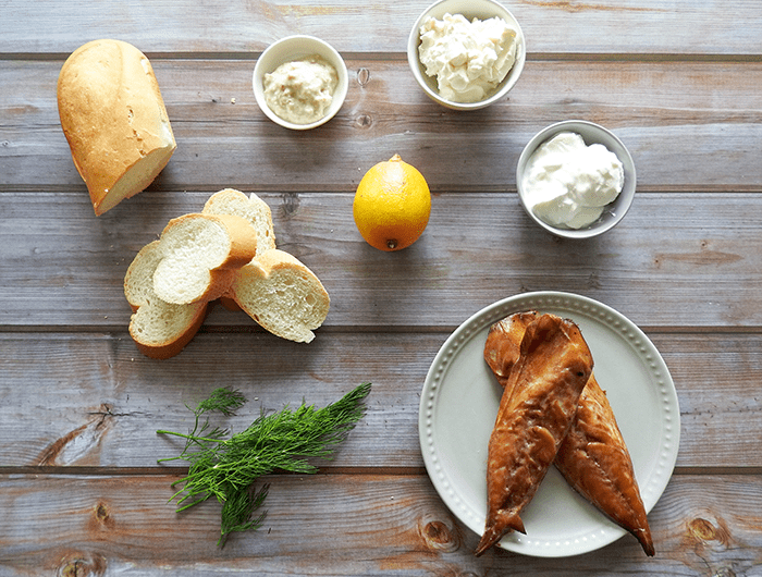 Smoked Mackerel Pate Horseradish Ingredients
