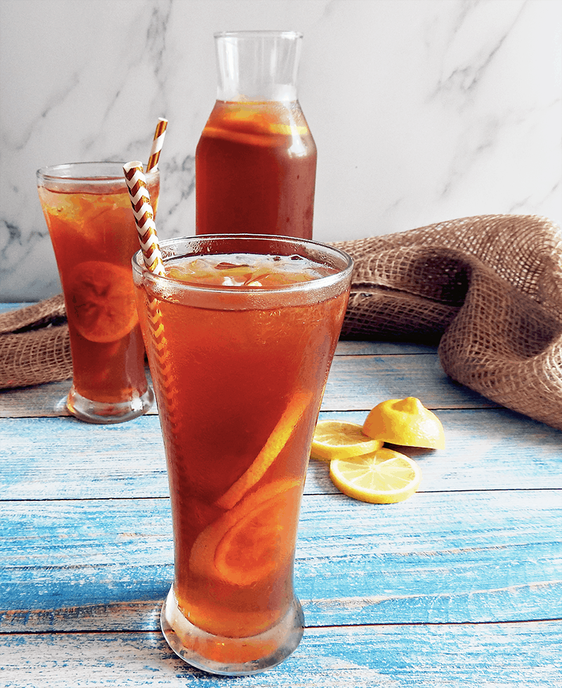 Lemon Earl Grey Iced Tea Recipe Feed Your Sole