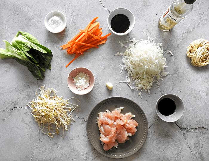 Chicken Chow Mein Ingredients