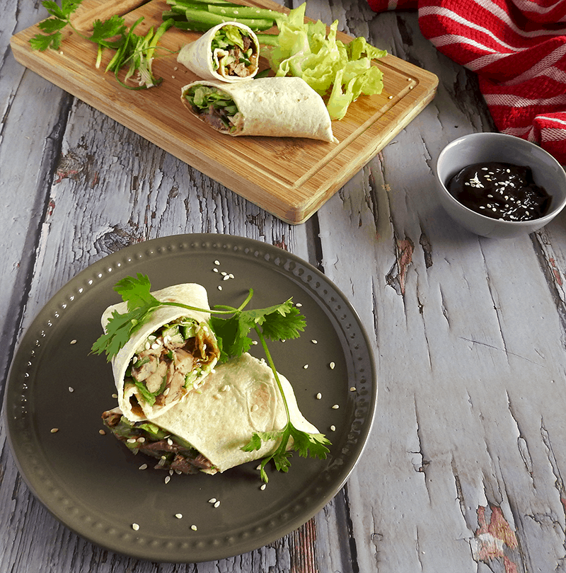 Duck Wraps Hoisin