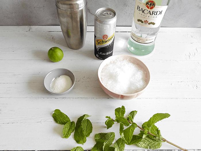 Easiest Ever Mojito Ingredients