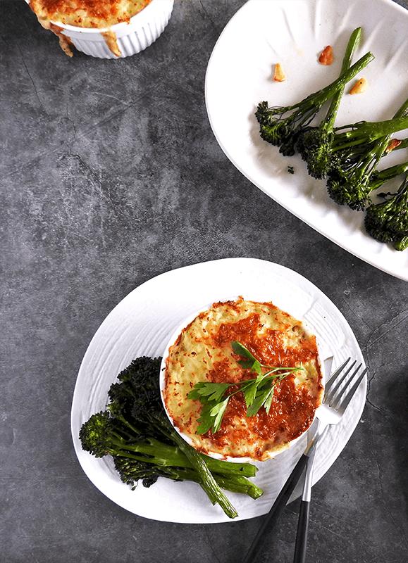 Egg Fish Pie