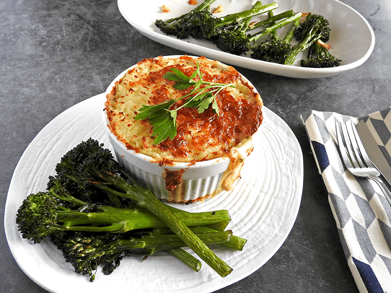 Fish Pie With Egg