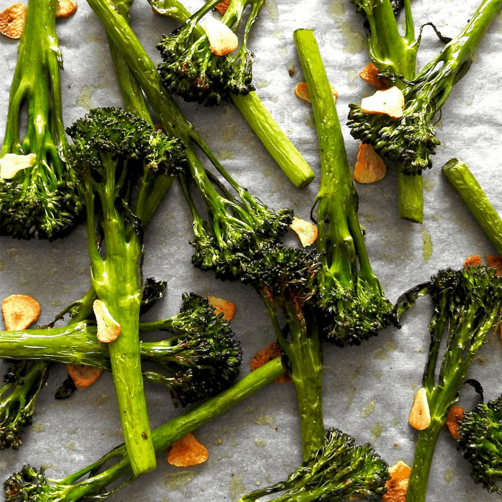 Roasted Tenderstem Broccoli Garlic