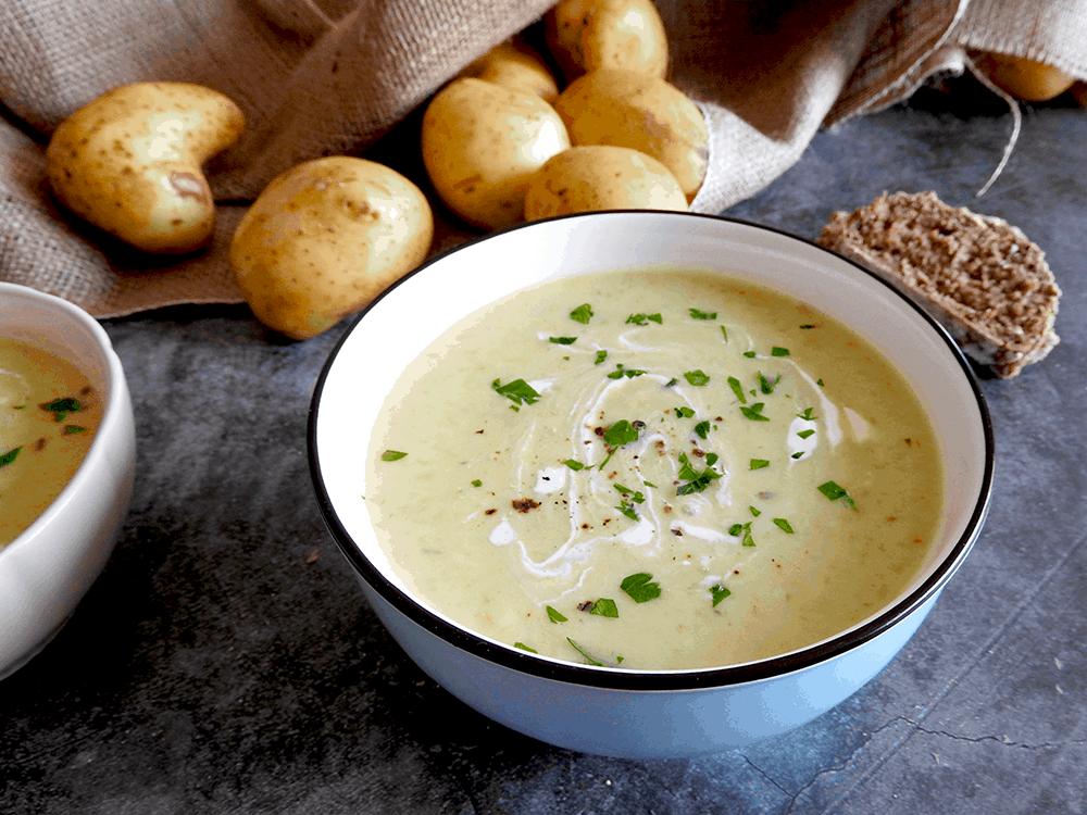 Leek And Potato Slow Cooker Soup