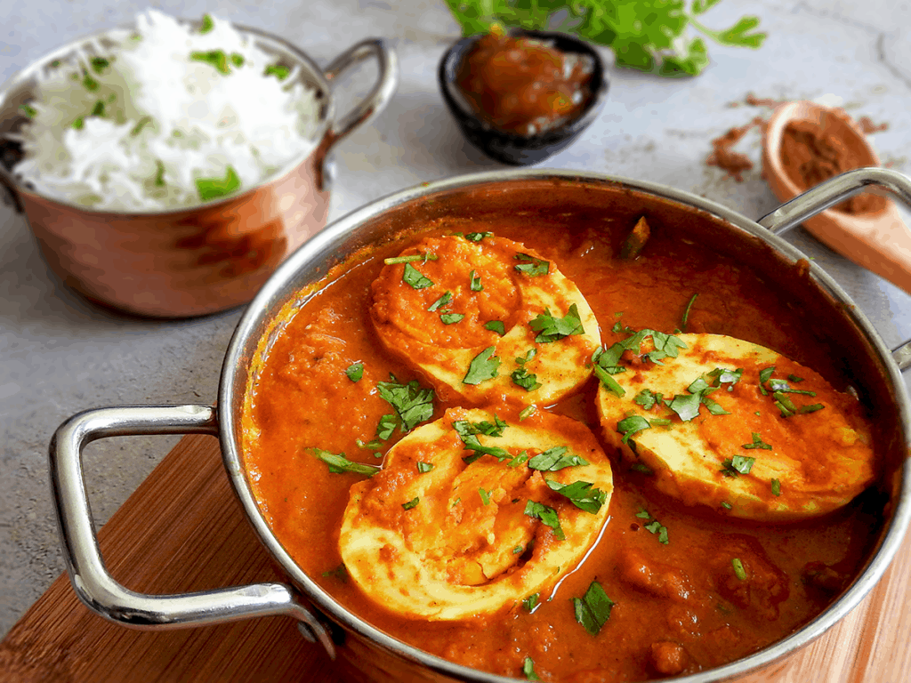 Recipe Simple Egg Curry