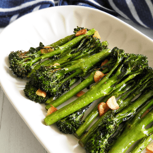 Roasted Garlic Tenderstem Broccoli
