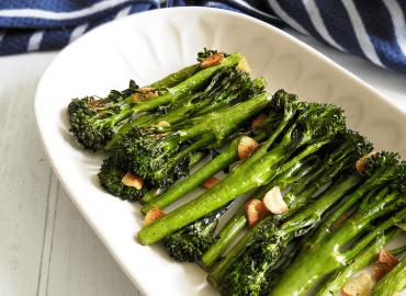 Roasted Garlic Tenderstem Broccoli