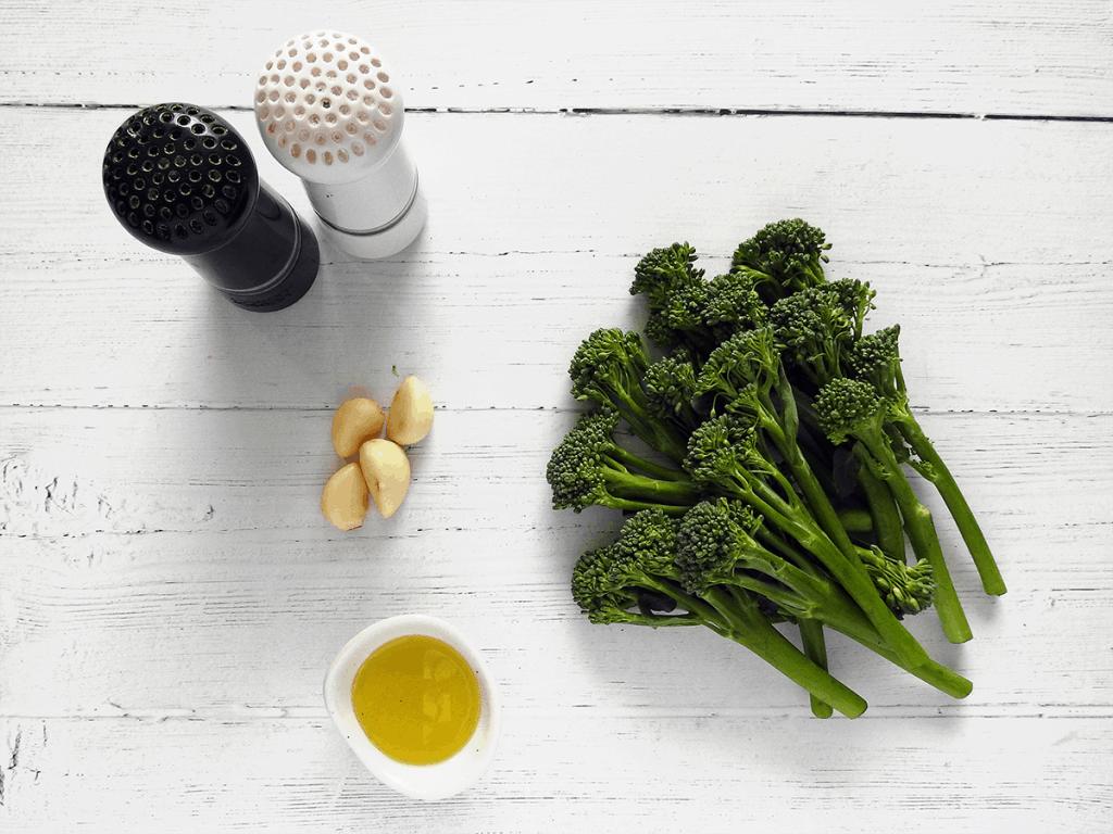 Roasted Tenderstem Garlic Broccoli Ingredients