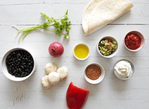 Vegetarian Fajita Ingredients