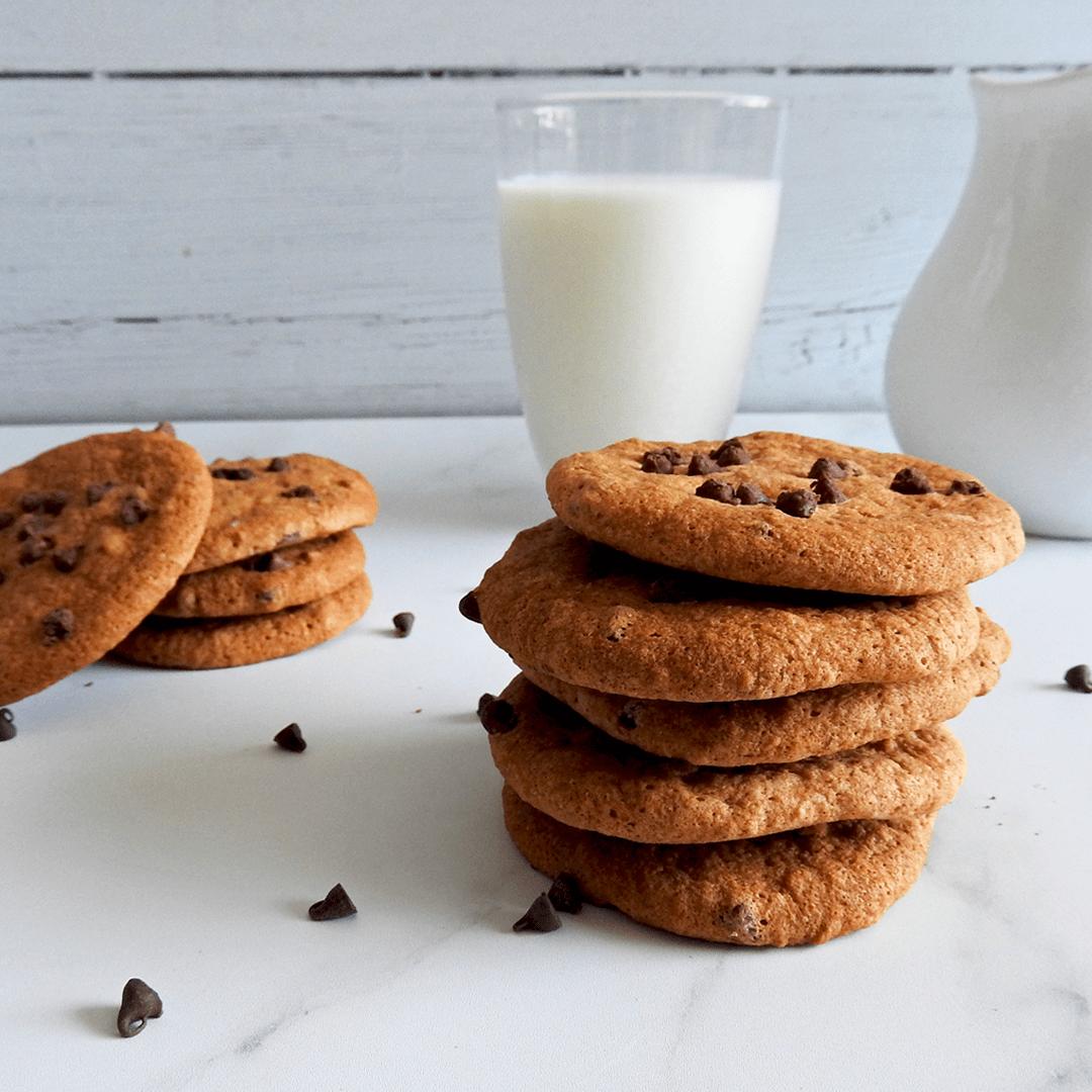 Chocolate Chip Banana Cookies