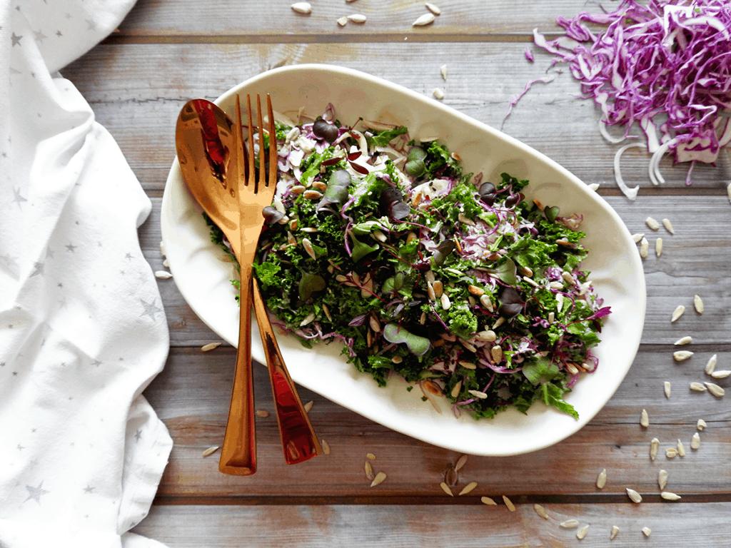 Kale Healthy Coleslaw