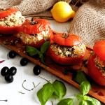 Stuffed Greek Tomatoes